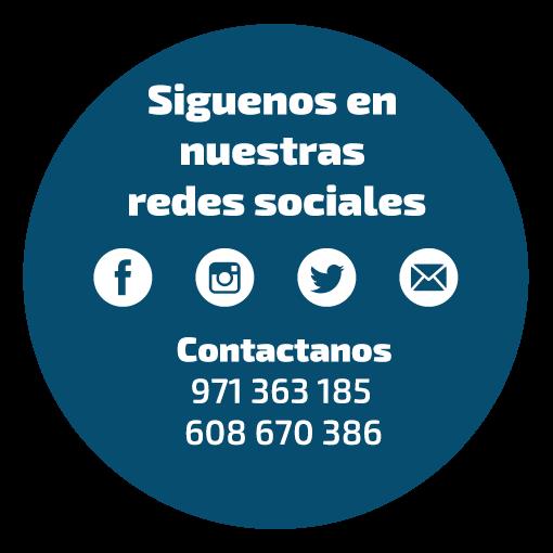 FaceBook, Twitter, Instagram de Centro Auditivo Menorca