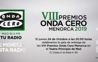 Premios Onda Cero Menorca