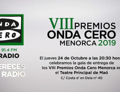 Emotiva gala de los Premios Onda Cero Mallorca